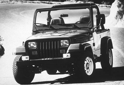 Vintage 1987 Jeep Wrangler