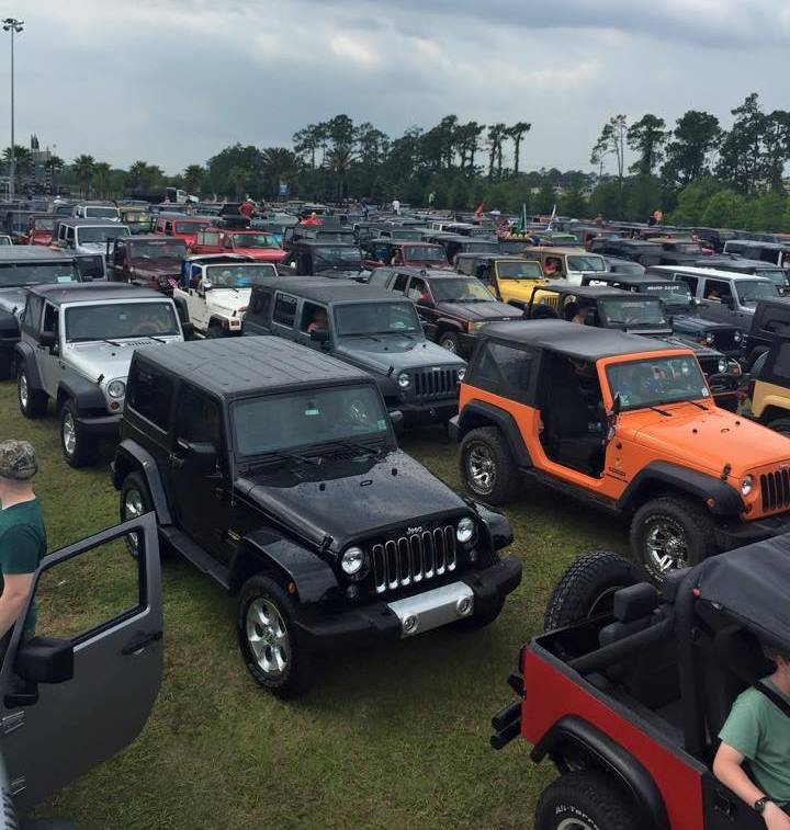 Jeep Beach Sets New Jeep Record